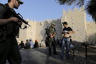 Israeli-Palestinian violence surges