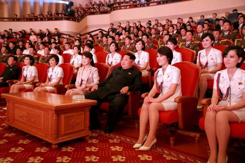 Kim Jong-Un, ladies man
