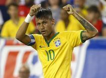 Neymar durante amistoso contra os Estados Unidos.   09/09/2015   Winslow Townson-USA TODAY Sports
