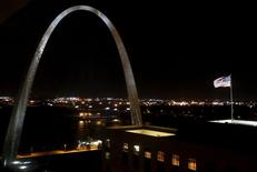 The Gateway Arch is seen in St. Louis, Missouri in this October 25, 2011 file photo. REUTERS/Jim Young/Files