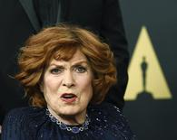 Honoree actress Maureen O'Hara poses during the Academy of Motion Picture Arts and Sciences Governors Awards in Los Angeles, California November 8, 2014.  REUTERS/Kevork Djansezian