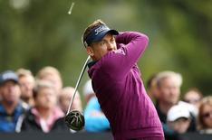 Golf - The British Masters - Woburn Golf Club - 10/10/15 England's Ian Poulter in action during the third round Mandatory Credit: Action Images / Alex Morton
