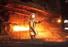 Usine de nickel. Eramet annonce jeudi un recul de 6% de son chiffre d'affaires au troisième trimestre, en raison principalement de la baisse des cours de ce minerai utilisé notamment pour produire de l'acier inoxydable. /Photo d'archives/REUTERS/Yusuf Ahmad