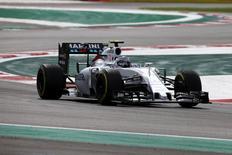 Williams' Valtteri Bottas during qualifying. Mandatory Credit: Action Images / Hoch Zwei