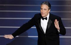 Jon Stewart hosted in 2008. REUTERS/Gary Hershorn