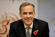Bank of England Governor Mark Carney speaks during an inflation report news conference at the Bank of England in London, Britain November 5, 2015. REUTERS/Jonathan Brady/pool