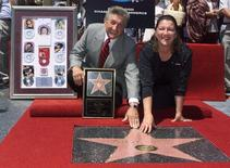 Country music singer Patsy Cline was posthumously honored with a star on the Hollywood Walk of Fame during ceremonies August 3 in Hollywood.