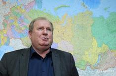 Zelichenok em entrevista em Moscou. 10/11/2015 REUTERS/Maxim Shemetov