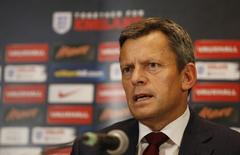 Football - England Press Conference - The Grove Hotel, Hertfordshire - 16/11/15 FA Chief Executive Officer Martin Glenn during the Press Conference Action Images via Reuters / John Sibley Livepic