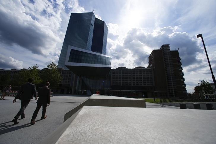 The European Central Bank (ECB) headquarters are pictured in Frankfurt, Germany, September 3, 2015.   REUTERS/Ralph Orlowski