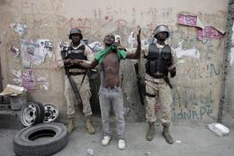 Haitians protest election results