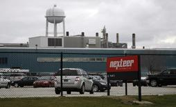Auto parts manufacturing plant  Nexteer Automotive, formerly the steering unit of General Motors, is seen in the Buena Vista township of Saginaw, Michigan November 18, 2010. Picture taken November 18, 2010.   REUTERS/Rebecca Cook