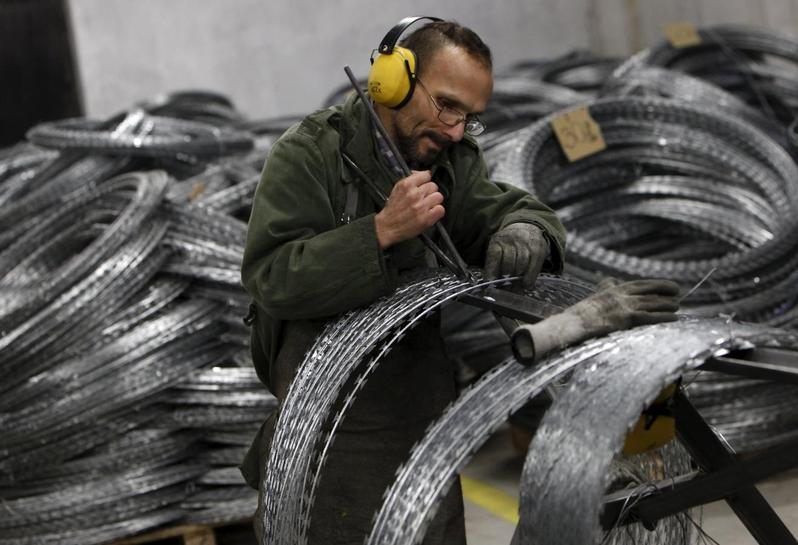 Hungary's new export: prison-made razor-wire coils