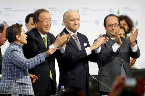 Obama calls Paris climate pact 'best chance' to save the planet