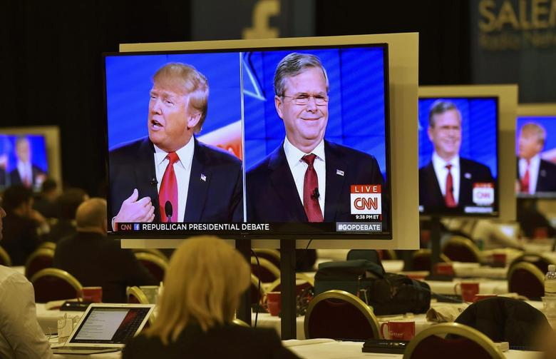 Jeb Bush takes on Trump in debate, but other rivals...