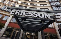 Штаб-квартира Ericsson в Стокгольме. 30 апреля 2009 года. Производитель телекоммуникационного оборудования Ericsson объявил, что подписал патентное соглашение с Apple Inc, которое поставило точку в годовом споре и привело к скачку акций шведской компании почти на 7 процентов в понедельник. REUTERS/Bob Strong