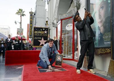 Quentin Tarantino gets a star