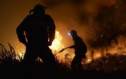 Wildfires rage across northern Spain