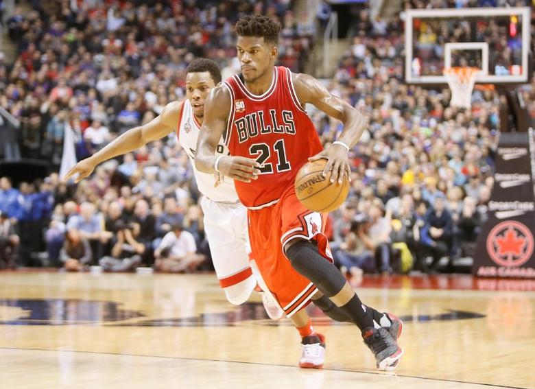 check out e39f0 6779f Butler eclipses Jordan record as Bulls edge Raptors ...
