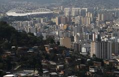 Vista general del Estadio Olímpico en Río de Janeiro, Brasil, 9 de noviembre de 2015.  UTC Engenharia S.A se convirtió en la primera empresa implicada en un vasto escándalo de corrupción de Brasil en renegociar su deuda, por un monto de 1.200 millones de reales (300 millones de dólares), reportó el miércoles el diario Folha de S. Paulo. REUTERS/Sergio Moraes