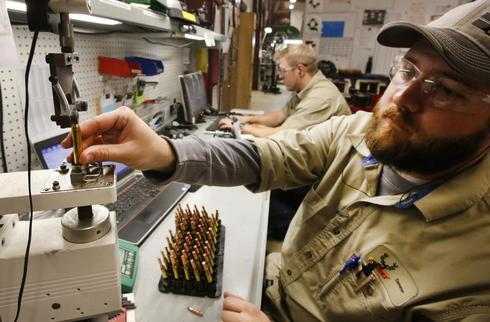 Inside a bullet factory
