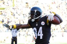 File image of Pittsburgh Steelers wide receiver Antonio Brown: Charles LeClaire-USA TODAY Sports