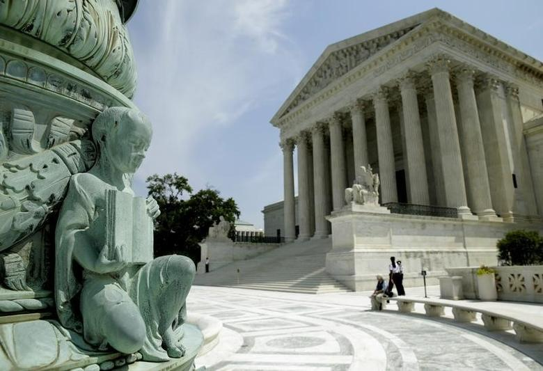 The U.S. Supreme Court is pictured in Washington June 8, 2015. REUTERS/Gary Cameron