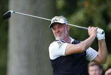 Golf - The British Masters - Woburn Golf Club - 9/10/15 Northern Ireland's Darren Clarke during the second round Mandatory Credit: Action Images / Alex Morton Livepic