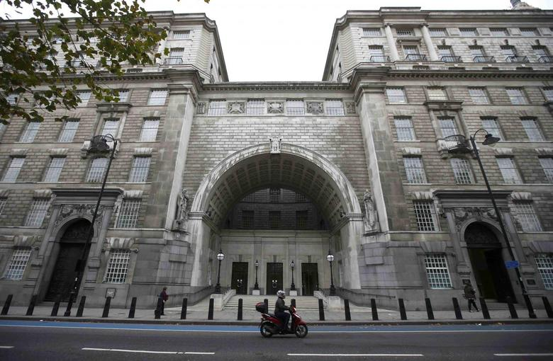 Thames House, the headquarters of the British Security Service (MI5) is seen in London, Britain, in this file photograph dated October 22, 2015.    REUTERS/Peter Nicholls