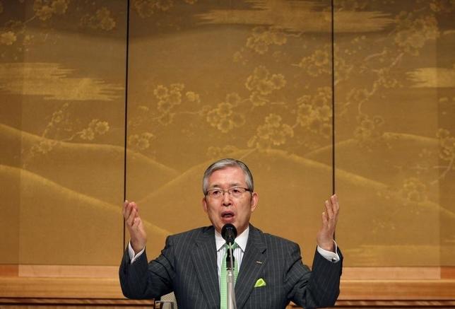 1月21日、日本電産の永守重信会長兼社長は会見し、10─12月期の業績について、ほぼ計画通りとしながらも、特定のスマートフォン(スマホ)向けと中国の家電関連で計画が未達だったことを明らかにした。 写真は永守会長兼社長。都内で2010年8月撮影(2016年 ロイター/Yuriko Nakao)
