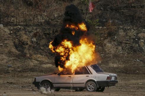Blast scene CSI