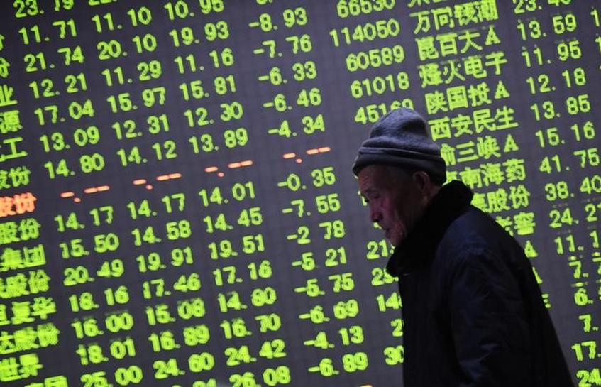 China shares rally, but biggest monthly drop in seven years
