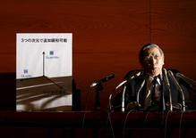 Presidente do BC japonês, Haruhiko Kuroda 29/1/2016 REUTERS/Yuya Shino
