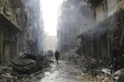 Syria in ruins