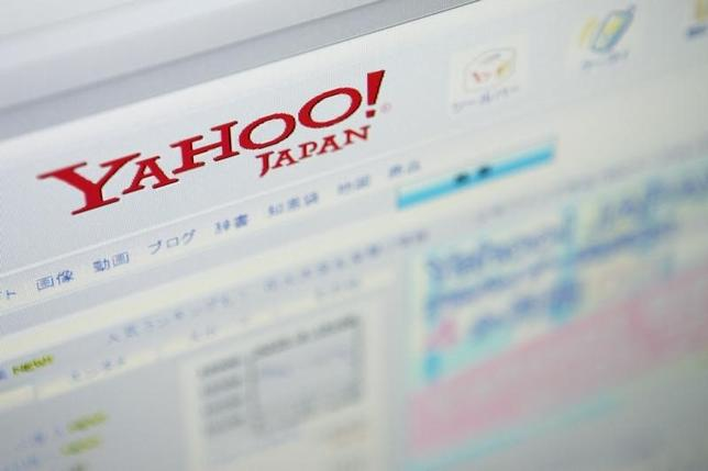 2月2日、ヤフーの宮坂学社長は決算会見で、FX取引子会社の顧客情報が流出した問題について陳謝した。都内で2009年撮影(2016年 ロイター)