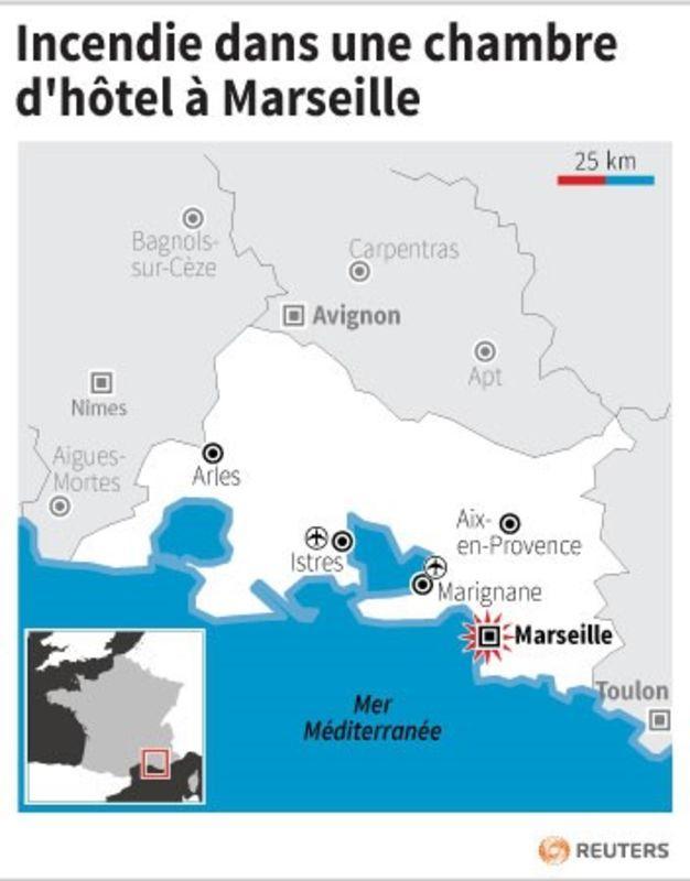 Deux morts dans l 39 incendie d 39 une chambre d 39 h tel for Chambre d hotel marseille