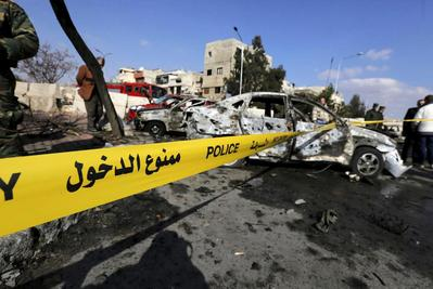 Suicide bombing in Damascus