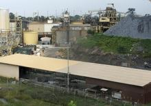 AngloGold Ashanti's main sulphide treatment plant is seen in Obuasi ,  file.   REUTERS/Kwasi Kpodo