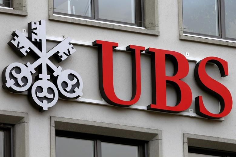 The company's logo is seen at a branch of Swiss bank UBS in Zurich, Switzerland February 2, 2016.  REUTERS/Arnd Wiegmann