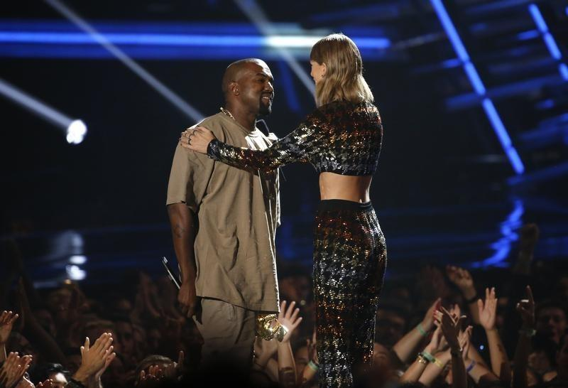 Bffs No More Kanye West Taylor Swift Feud Over His Famous Song Reuters