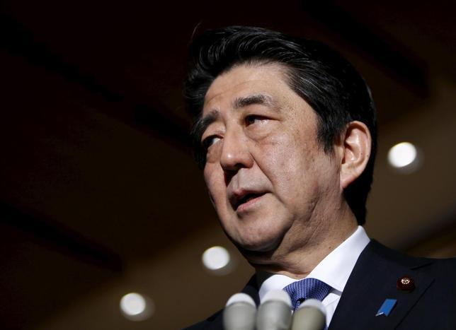2月15日、経済財政諮問会議(議長、安倍晋三首相)の民間議員が金融・資本市場の安定に向け、G7による連携強化を要請することが分かった。写真は1月撮影(2016年 ロイター/Yuya Shino)