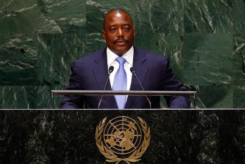 Joseph Kabila Kabange, President of the Democratic Republic of the Congo, addresses the 69th United Nations General Assembly at the U.N. headquarters in New York September 25, 2014. REUTERS/Lucas Jackson