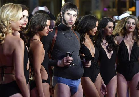 The many faces of Sacha Baron Cohen