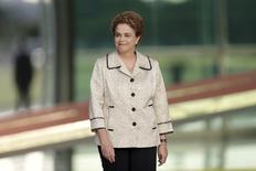 Presidente Dilma Rousseff no Palácio da Alvorada. 19/02/2016 REUTERS/Ueslei Marcelino