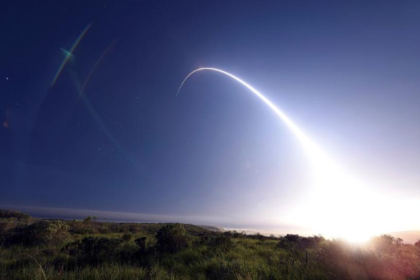 U.S. test-fires ICBMs to stress its power to Russia, North Korea
