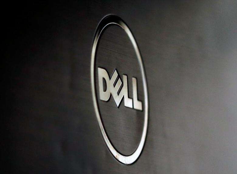 A Dell logo is seen in this illustration picture taken in Sarajevo, Bosnia and Herzegovina, October 12, 2015. REUTERS/Dado Ruvic