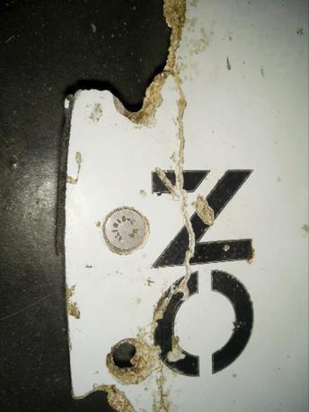 3月3日、モザンビークの沿岸で航空機の一部とみられる残骸(写真)が発見され、マレーシア運輸相はボーイング777型機である「可能性が高い」と述べた。写真はビデオの静止画。ブレイン・ギブソン氏、豪運輸安全局提供(2016年 ロイター)