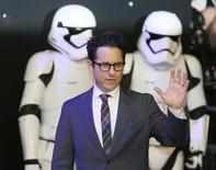 Director JJ Abrams arrives at the European Premiere of Star Wars, The Force Awakens in Leicester Square, London, December 16, 2015.     REUTERS/Paul Hackett