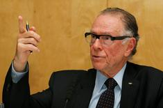 Olympics - Rio 2016 Press Conference - St Martins Lane Hotel, London - 1/9/15 President of the Organising Committee for Rio 2016, Carlos Nuzman during the press conference Action Images via Reuters / Paul Childs Livepic