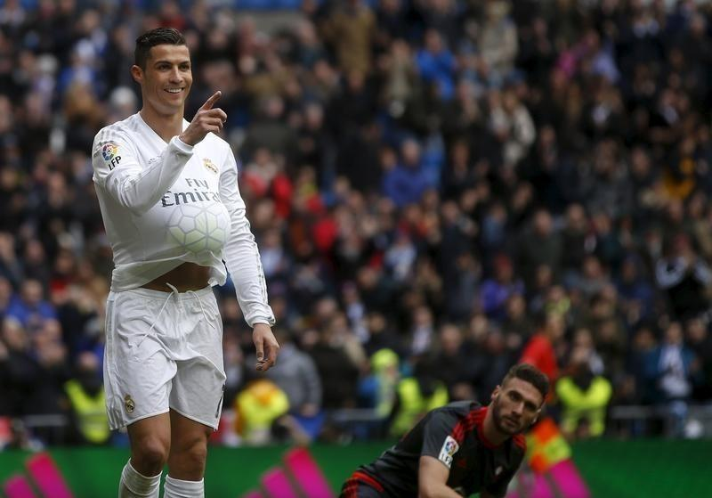 Ronaldo Hits Four As Real Madrid Crush Celta 7 1 Reuters